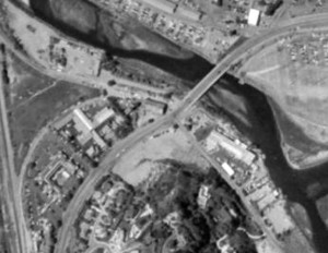 1990 Aerial of Watermark Del Mar site